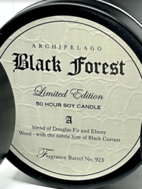 Black Forest Candle Tin